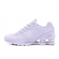 NIKE SHOX DELIVER 809 WOMEN BIGGER SIZE ALL WHITE/MEN Free Shipping