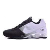 NIKE SHOX DELIVER WOMEN BIGGER SIZE BLACK WHITE/MEN New Release