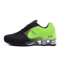 NIKE SHOX DELIVER WOMEN BIGGER SIZE BLACK GREEN/MEN New Release