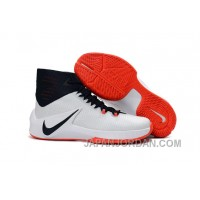 Nike Zoom Clear Out White/Obsidian/Bright Crimson Super Deals