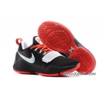 Nike Zoom PG 1 Black White Red Free Shipping