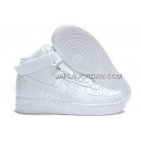 Nike Air Force 1 High Mens All White 割引販売