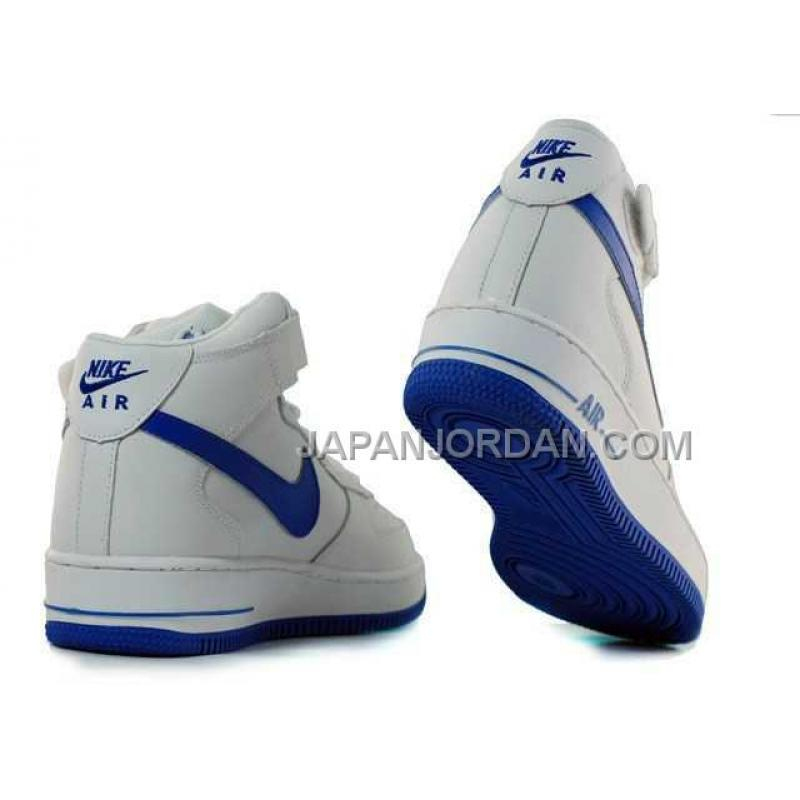 nike air force 1 high mens white blue ������� price ��6808