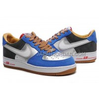 Nike Air Force 1 Low Mens Blue Silver 送料無料