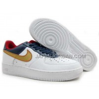 Nike Air Force 1 Low Mens Navy White 送料無料