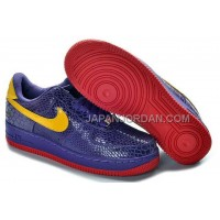 Nike Air Force 1 Low Mens Purple Yellow 送料無料