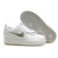 Nike Air Force 1 Low Mens White Silver 送料無料