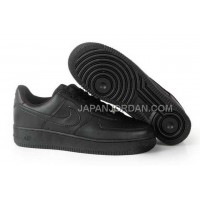 Nike Air Force 1 Low Womens All Black 送料無料