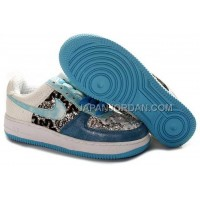 Nike Air Force 1 Low Womens Black Blue ホット販売