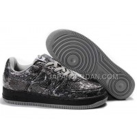 Nike Air Force 1 Low Womens Black Grey ホット販売
