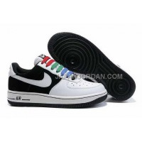 Nike Air Force 1 Low Womens Black White ホット販売