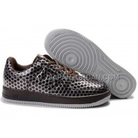 Nike Air Force 1 Low Womens Brown Silver ホット販売