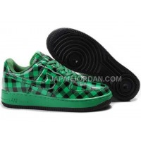 Nike Air Force 1 Low Womens Green Black ホット販売