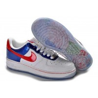Nike Air Force 1 Low Womens White Blue ホット販売