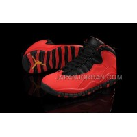 ホット販売 Nike Air Jordan 10 Mens Couple GS Fusion Red Shoes