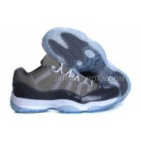 Nike Air Jordan 11 Mens Gray With Low Style Shoes 割引販売