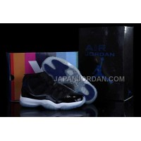 Nike Air Jordan 11 Mens Jordan Retro Black White Blue Shoes 割引販売
