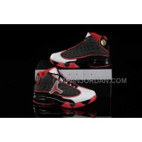 Nike Air Jordan 13 Kids Black Red White Shoes 格安特別