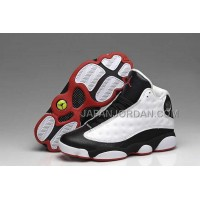 ホット販売 Nike Air Jordan 13 Mens Supper AAA White Black Red Shoes
