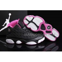 格安特別 Nike Air Jordan 13 Womens Black White Pink Shoes