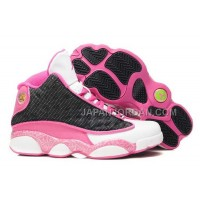 格安特別 Nike Air Jordan 13 Womens White Pink Black Shoes