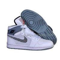本物の Nike Air Jordan 1 Mens 89 Black Fire Red CeMenst Grey Shoes