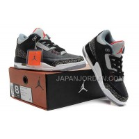 Nike Air Jordan 3 Mens Woollen Blanket Black Gray Red Shoes 割引販売