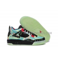 格安特別 Nike Air Jordan 4 Womens Multi Color Shoes