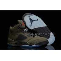 格安特別 Nike Air Jordan 5 Mens DMP Brown Black Shoes