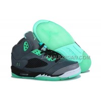 割引販売 Nike Air Jordan 5 Mens Grey Green Shoes