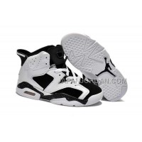 本物の Nike Air Jordan 6 Kids White Black Shoes