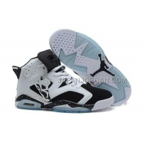 割引販売 Nike Air Jordan 6 Mens 2014 New Style White Black Shoes