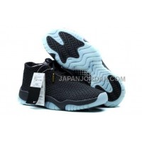 割引販売 Nike Air Jordan Future Premium Black Blue Shoes