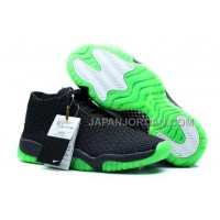 割引販売 Nike Air Jordan Future Premium Black Green Shoes