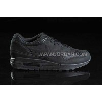 Nike Air Max 1 87 Mens All Black 送料無料