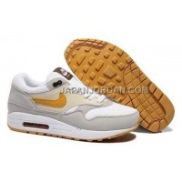 送料無料 Nike Air Max 1 87 Mens Beige