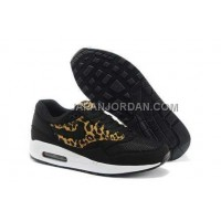 Nike Air Max 1 87 Mens Black LeoPard 送料無料