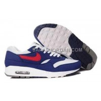 Nike Air Max 1 87 Mens Blue White Red 送料無料