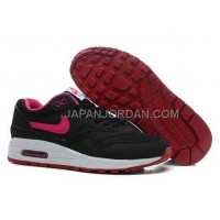 Nike Air Max 1 87 Womens Black Red 送料無料