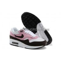 Nike Air Max 1 87 Womens White Pink 新着