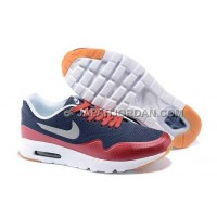 Nike Air Max 1 Ultra Moire Mens Dark Blue Red White オンライン
