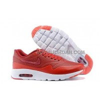 Nike Air Max 1 Ultra Moire Womens Red White 新着