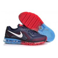Nike Air Max 2014 Mens Black Blue Red 送料無料