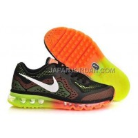 Nike Air Max 2014 Mens Black Red Green 送料無料