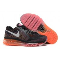 Nike Air Max 2014 Womens Black Orange 新着
