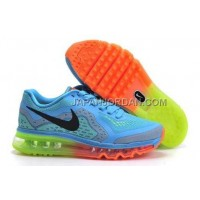 Nike Air Max 2014 Womens Blue Green Orange 新着