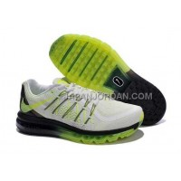 Nike Air Max 2015 Mens Black White Green オンライン