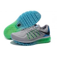 Nike Air Max 2015 Mens Gray Green オンライン