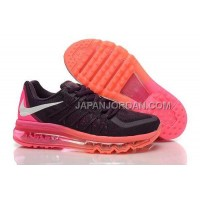 Nike Air Max 2015 Womens Black Pink 新着
