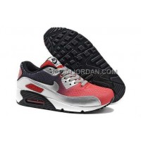 オンライン Nike Air Max 90 EM Mens 2014 Red Silver